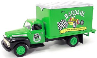 "1951 Ford Dry Goods Van ""Bardahl Racing Motor Oil"""
