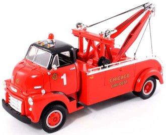"1952 GMC Heavy Duty Wrecker ""Chicago Fire Dept."" (Red/Black)"
