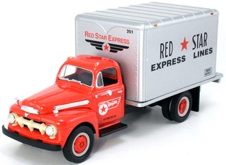 "1:34 1951 Ford Dry Goods Van ""Red Star Express Lines"""