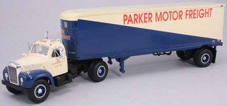 "1960 Mack B-61 w/Van Trailer ""Parker Motor Freight"""
