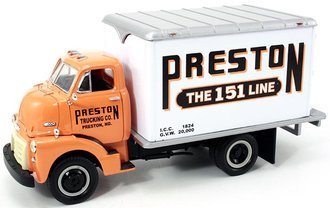 "1952 GMC Dry Goods Van ""Preston Trucking"""