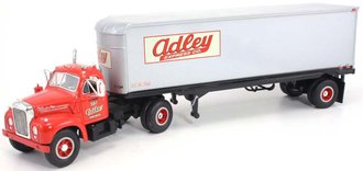 "1960 Mack B-61 w/Van Trailer ""Adley Express"""
