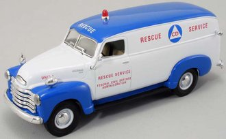 "1949 Chevy Panel Truck ""Civil Defense"""