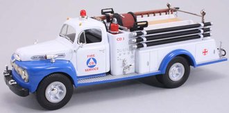 "1951 Ford Fire Truck ""Civil Defense"""