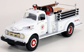 """1:34 1951 Ford Fire Truck """"Texaco Fire Chief"""" (White - Sampler)"""