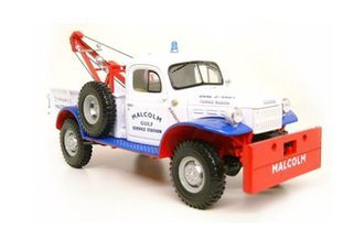 "Dodge Power Wagon Tow Truck ""Malcolm Gulf"" (White)"