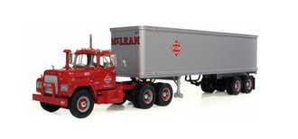"Mack R-Model w/35' Trailer ""Consolidated Freightways"" (Red/Green)"