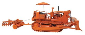 1:25 Allis-Chalmers HD-21 Crawler w/Blade, Disk & Umbrella (Orange)