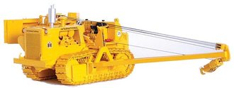 1:25 International TD-25C Crawler w/Side Boom & Winch (Yellow)