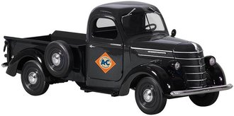 "1:25 1938 International D-2 Pickup ""Allis-Chalmers"" (Black)"