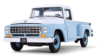 1:25 1963 International C1100 Pickup Truck (Seascape Blue)