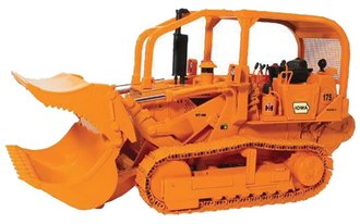 1:25 International 175 Crawler Loader w/Demo Bucket (Orange)