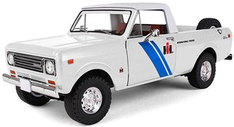 1:25 1979 International Scout Terra Pickup (IH Dealer Vehicle) (White)