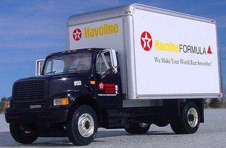 "1:54 International 4900 Dry Goods Van ""Texaco Havoline"""