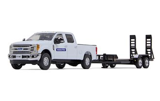 "Ford F-250 Super Duty Pickup w/Tandem-Axle Tag Trailer ""Komatsu"""