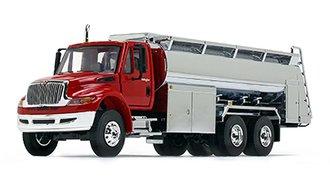 1:50 International DuraStar w/Liquid Fuel Tank Body (Viper Red Cab/Chrome Tank)