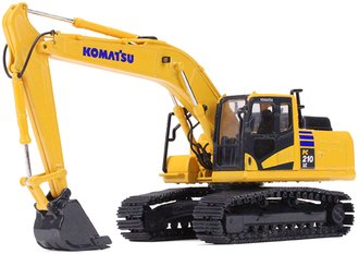 1:64 Komatsu PC210LC-11 Excavator w/Metal Tracks