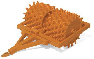 1:25 Sheep's Foot Compactor (Orange)