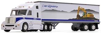 "Komatsu Plastic Tractor Trailer w/Lights & Sounds (25"" Long)"