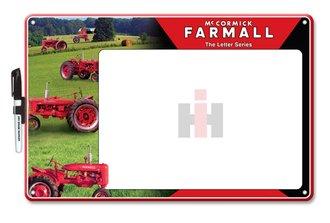 Dry Erase Board (Stamped Steel) - International McCormick Farmall Tractor