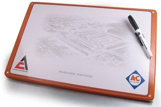 Dry Erase Board (Stamped Steel) - Allis-Chalmers - Milwaukee, WI