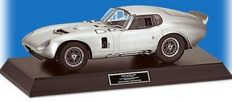 1:12 1964 Shelby Daytona Coupe Le Mans (Pewter) w/Display Base