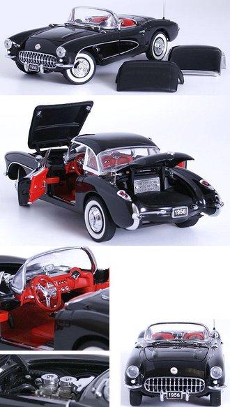 1956 Corvette Fiberglass Hardtop (Black)