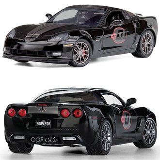 2009 Corvette Competition Sport Z06 (Black)