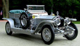 1907 Rolls-Royce Silver Ghost (Silver Metallic)