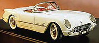 1953 Corvette Convertible (White)