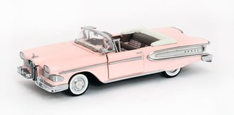 1:43 1958 Ford Edsel Convertible (Light Pink/White)