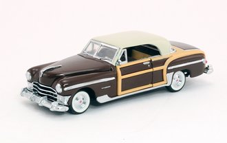 1:43 1950 Chrysler Town & Country (Brown)