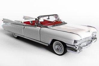 1:43 1959 Cadillac El Dorado Convertible (White)