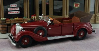 1:43 1939 Mercedes-Benz 770K (Burgundy)
