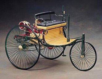 1:8 1886 Benz Patent Motorwagen