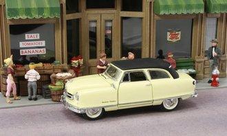 1:43 1950 Nash Rambler (Yellow w/Black Roof)