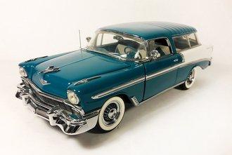 1956 Chevrolet Nomad Wagon (Blue)