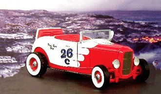 1932 Ford Hot Rod (Red/White)