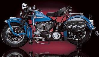 1:10 Harley-Davidson® 1948 Panhead (Blue)