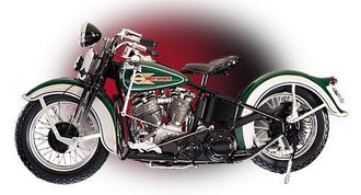"1:10 1936 Harley-Davidson ""First Knucklehead"""
