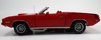1:24 1970 Plymouth Hemi-Cuda Convertible (Red)