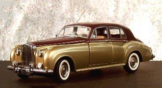 1955 Bentley 4-Door Sedan (Maroon/Gold)