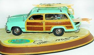 1949 Ford Woody Wagon (Green)