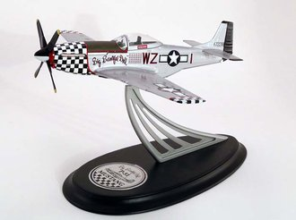1:48 P-51 Mustang Fighter Plane (Silver)