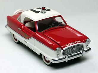 1956 Nash Metro Fire Car (Red/White)
