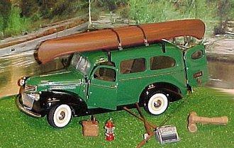 1946 Chevrolet Suburban (Green)