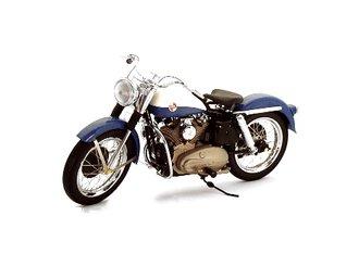 "1:10 1957 Harley-Davidson XL Sportster ""Sturgis"" (Blue)"