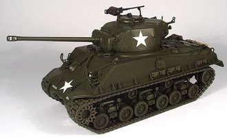 "1:24 M4A3 Sherman Tank ""General Patton"" (Green)"
