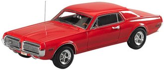 1968 Mercury Cougar (Cardinal Red)