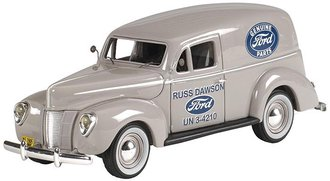 "1939 Ford Panel Van ""Genuine Ford Parts"" (Folkstone Gray)"